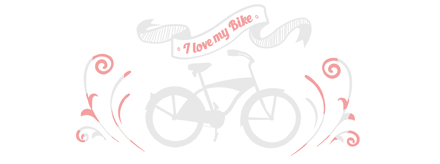 Велосипед I love my bike лого